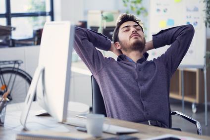 Entspannen im Büro, Atemübung